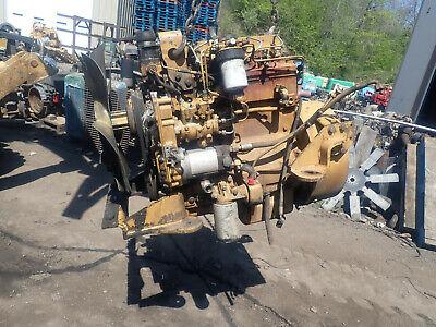 Caterpillar 3054t Turbo Diesel Engine Video Perkins 1004-40t Cat Cb534 Cat
