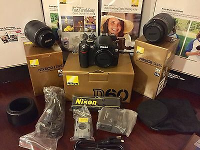Nikon D60 10.2 MP Digital SLR Camera Black