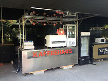 QUICKSALE. STAINLESS STEEL COFFEE CART FOR MOBILE BUSINESS Caulfield East Glen Eira Area Preview