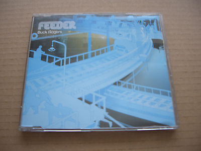 FEEDER - BUCK ROGERS - CD SINGLE - JEWEL CASE – BLUE INLAY – WITH VIDEO TRACK