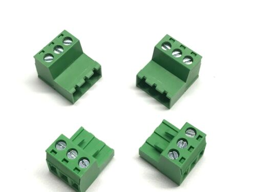5.08mm 3 PIN PHOENIX CONNECTOR MALE AND FEMALE Inverted IC Series 2 Sets