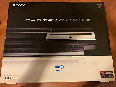 Sony PlayStation 3 Launch Edition 60GB Console (CECH-A01) Backward Compatible