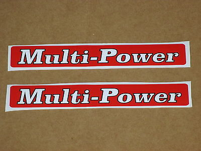 2 Multi Power Decals For Massey Ferguson Decal Mf 135 140 148 165 168 175 178