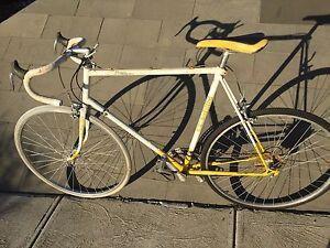 Vintage mens bike large bike 12Spd racer 61cm lightweight steel frame Southbank Melbourne City Preview