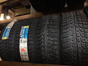 4 brand New Michelin Xice 215/60/17 installation available