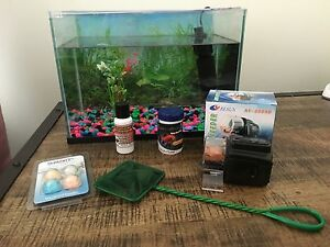 Fish Tank Aquarium + accessories (over $100 value) Como Sutherland Area Preview