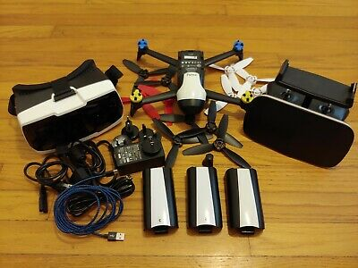 Copycat Bebop 2 FPV Camera Drone. Lightweight HD Video Drone with 3 batteries