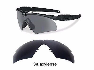 Galaxy Replacement Lenses For Oakley Si Ballistic M Frame 2.0 Z87 Black (Oakley M Frame Lens)