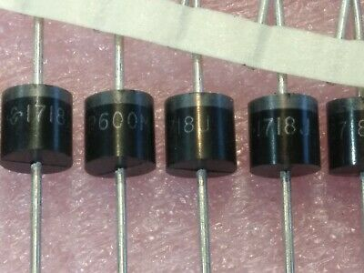 10x P600m 1000v 6a Rectifier Vishay High Voltage Diode 10pcs. Lot