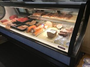 Deli and fresh meat counter