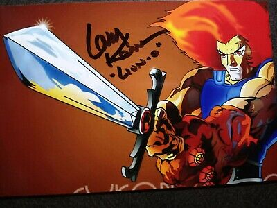 LARRY KENNEY As LION-O Authentic Hand Signed Autograph 4X6 Photo - THUNDERCATS
