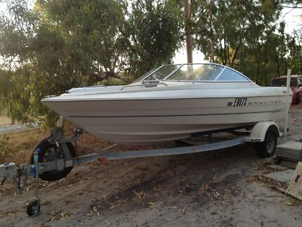 CHEAPEST 1999 Bayliner 195 Capri Bowrider with BRAND NEW Engine Furnissdale Murray Area Preview