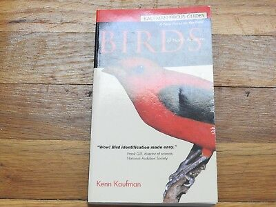 BIRDS OF NORTH AMERICA Easy To Carry Field Guide Book, Full color page
