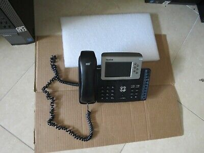 Yealink Sip-t38g Gigabit Color Ip Display Business Phone With Base Headset
