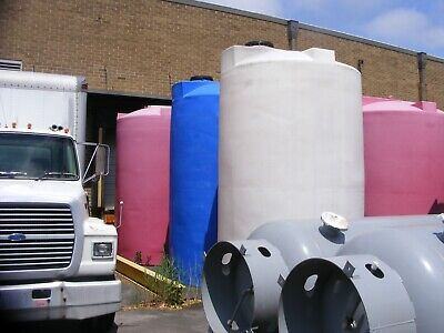 4000 Gallon Vertical Poly Storage Tanks In Nj Sold Each
