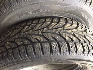 Studded Salun Ice Blazer 215/70R16 Tires
