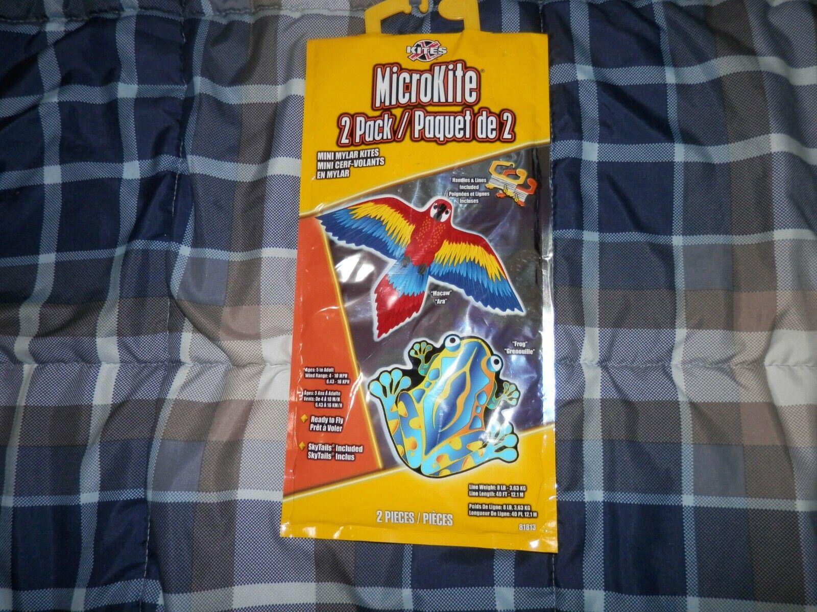 unopened 2 pack microkite mini mylar kites