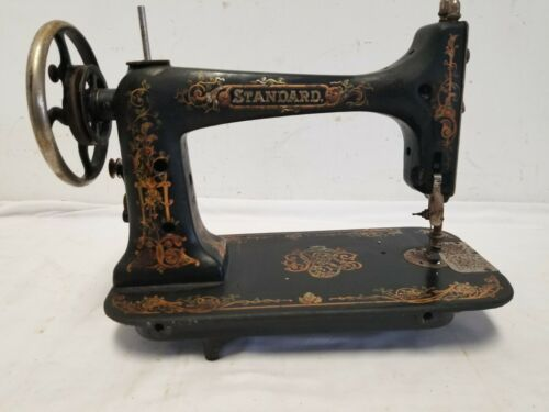 Antique Standard Brand Treadle Sewing Machine Head