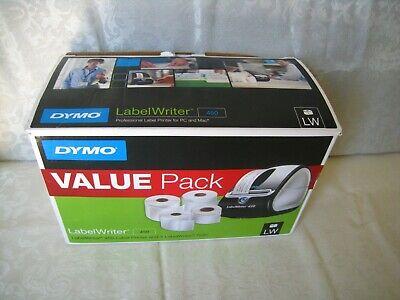 Dymo Labelwriter 450 1750110 Usb Label Printer Wac Adapter