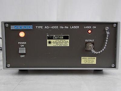Ando Type Aq-4302 Aq4302 He-ne Laser Calibrator Standard