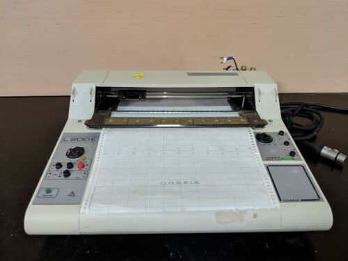 Linseis L200E Flat Bed Chart Recorder