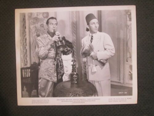 The Road To Morocco  - Original  Movie Photo -  Hope and Crosby