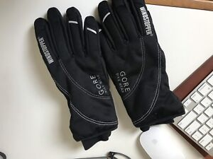 Gore Bike Wear Insulated Windstopper Thermo Gloves