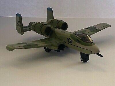Matchbox A-10 Thunderbolt Military Airplane / War Plane / Fighter Bomber / Jet