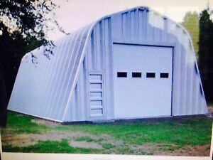 50 x 30 x 16 high steel building for sale never assembled