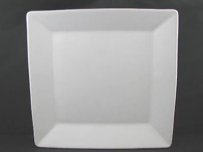 White Square Rimmed Platter 10 inch Waechtersbach German Stoneware New White Square Platte