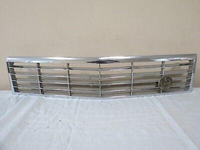 87 88 89 90 91 92 93 Cadillac Allante Front UPPER Radiator Bumper Grill Face OEM