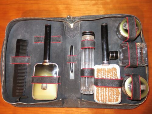 Antique Traveling Grooming Set