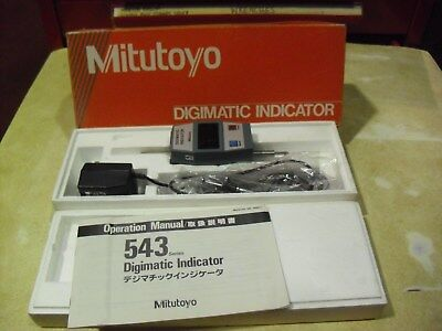 Mitutoyo .0001-.4 Digimatic Indicator Model 543-421a Id-110me Made In Japan