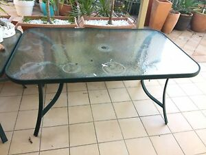 2 x Glass BBQ Tables Hamilton Brisbane North East Preview
