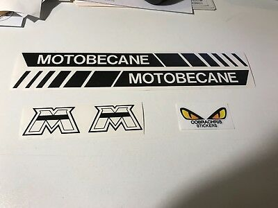 Autocollant planche Mbk 51 motobecane