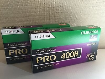10 Rolls FUJIFILM FUJI PRO 400H Maestro Color Film (120 Unfold Film) 2 Packs