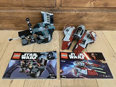 LEGO Star Wars Duel on Naboo (75169) & Obi-Wan's Jedi Interceptor (75135) - READ
