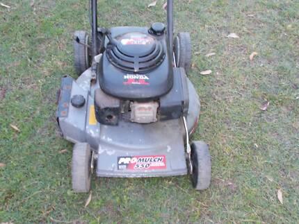 Self propelled 5 h.p Honda/Victa  lawnmower
