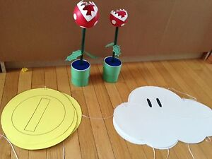 Super Mario party decorations