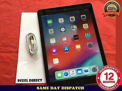 PERFECT Apple iPad Air 1st Gen. 32GB, Wi-Fi + Cellular (Unlocked) iOS 12 Ref 229