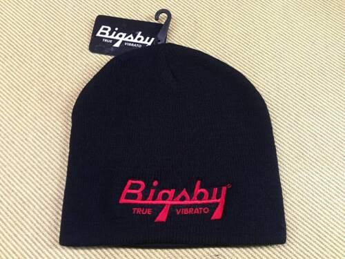 180-2263-100 Bigsby True Vibrato Logo Beanie/Hat Black