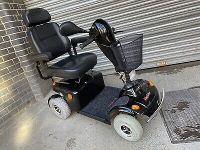 Lovely Freerider Mayfair S 8mph All Terrain Mobility Scooter In Black
