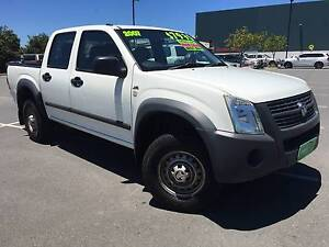 2007 Holden Rodeo LX Double Cab High Rider, Manual, ONLY *$7,995 Biggera Waters Gold Coast City Preview