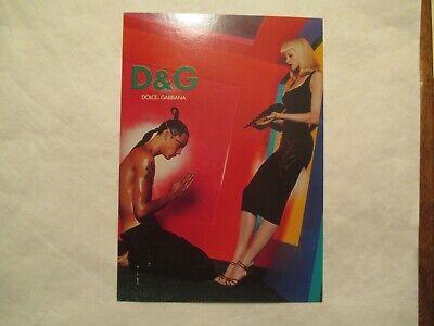 D & G Dolce & Gabbana Soho New York NY Advertising Continental Postcard (Dolce Gabbana New York)