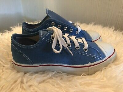 Vintage 90s Keds New Girls 2.5 Sparkling Gems Leather Casual Lace Up Shoes White