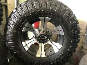 LANDCRUISER 16X8 5@150 CROSSFIRE STORM ALLOY WITH MAXXIS RAZR TYRE Kedron Brisbane North East Preview