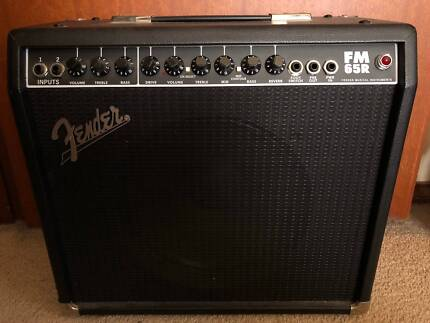 Fender FM 65R Amplifier - Guitar Combo Amp 65W, BARGAIN PRICE!