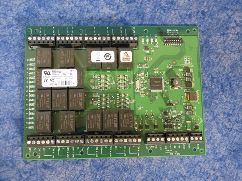 Mercury Security MR16out 16-Output Interface Panel