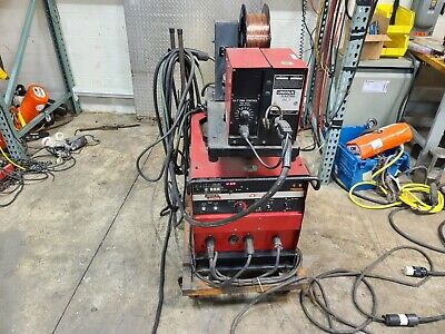 Lincoln Idealarc Cv-300 Mig Welder Ln-7 Wire Feed