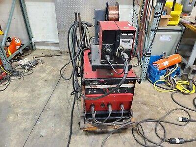 Lincoln Idealarc Cv-300 Mig Welder Ln-7 Wire Feed
